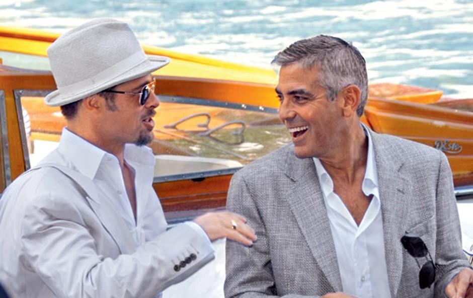 Brad Pitt in Georg Clooney (foto: Red Dot)