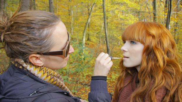 Nina obljublja, da bo njen spot viden že ta teden. (foto: Grega Gulin)