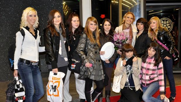 Rebecca Kim Lekše in plesna skupina Cat Ladies so zmagale na šovu talentov. (foto: DonFelipe)