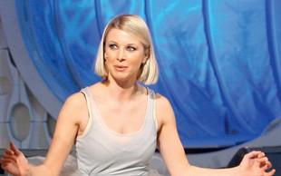 Igralka Tjaša Železnik pokazala, kako je videti brez vseh ličil
