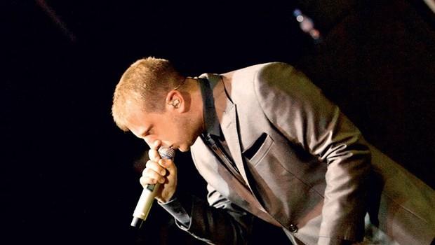Britanski pevec Ben Drew, bolj znan kot Plan B, je poskrbel za evforijo v dvorani. (foto: Marko Ocepek in zaklop.com)