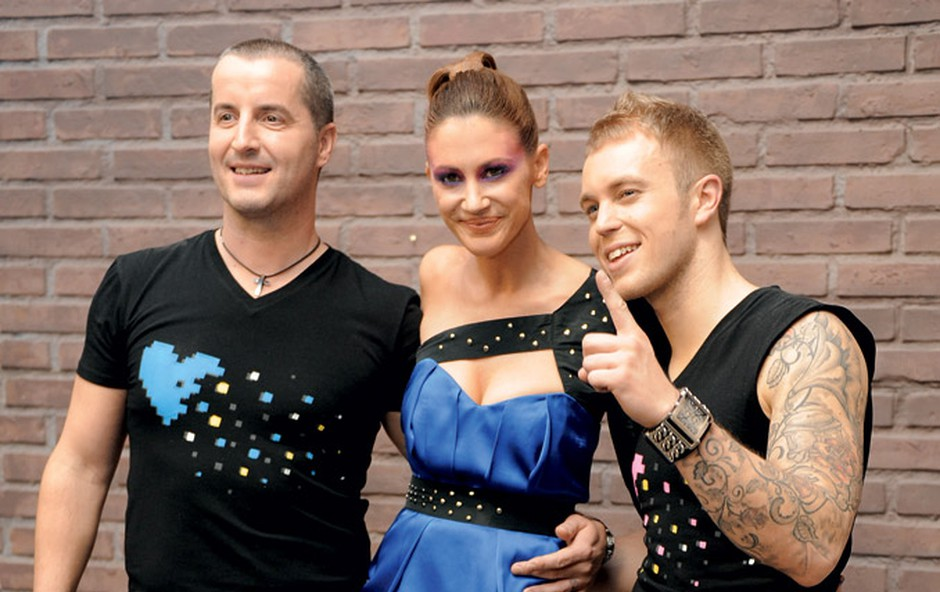J Sylvain, Hannah Mancinim, Mike Vale (foto: Primož Predalič)