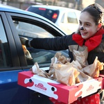 Mala Zala, preoblečena v miško, pa je polepšala dan marsikomu. (foto: Radio 1 )