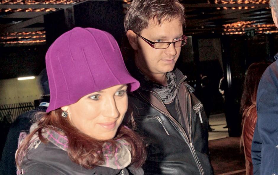 Sabina in Jurij Zrnec (foto: Goran Antley)
