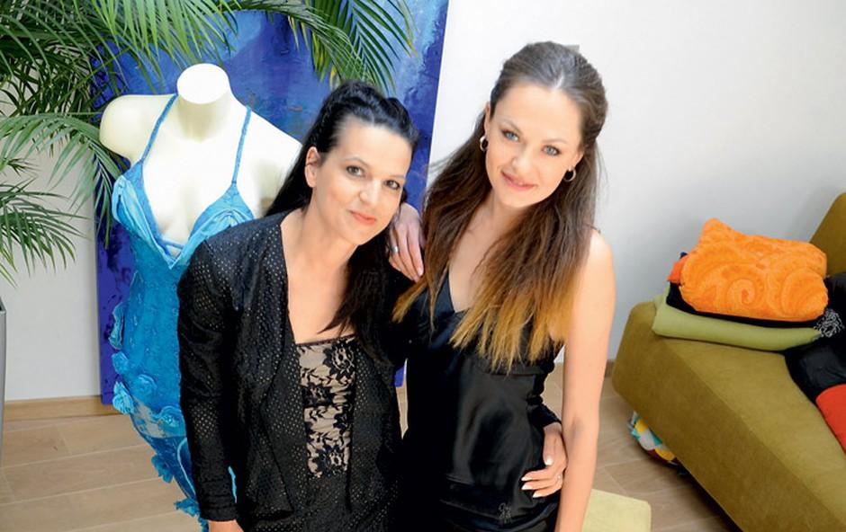 Simona Lampe in Iryna Osypenko (foto: Primož Predalič)