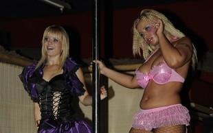 La Toya in Marjanca Scheicher: Erotična modna revija