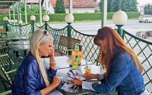 Urška Čepin in Suzana Jakšič: Lotili sta se skupnega posla