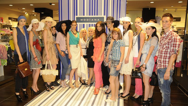 Modianina modna revija (foto: Sašo Radej)