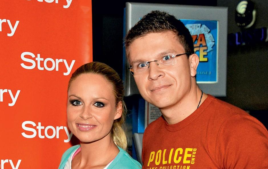 Špela Grošelj in Bojan (foto: Sašo Radej)
