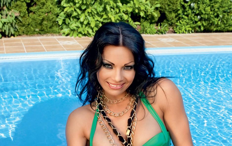 Viktorija Manzinni (foto: Urška Košir, Playboy)