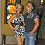 Mateja Malnar in Aleš Čepin sta uživala v lepotnem izbor Miss Casino Riviera. (foto: DonFelipe)