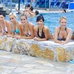 Bujne lepotice, finalistke Miss Earth Slovenije 2011 (foto: DonFelipe)