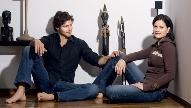 Alen Kobilica in Karin Ziherl (foto: Bor Dobrin)