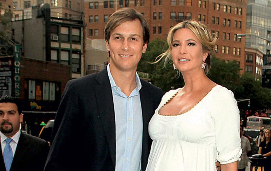 Jared Kushner in Ivanka Trump (foto: Profimedia.si)