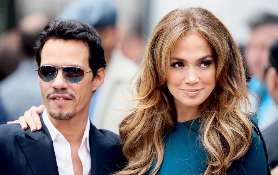 Marc Anthony in Jennifer Lopez (foto: Profimedia.si)