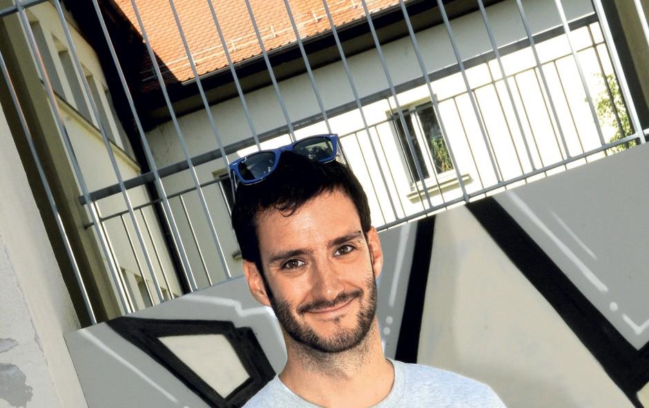 Svetovno priznani Matjaž Tančič je svoje izjemno znanje pokazal v kampanji Več od lajfa Nove KBM (foto: Sašo Radej)