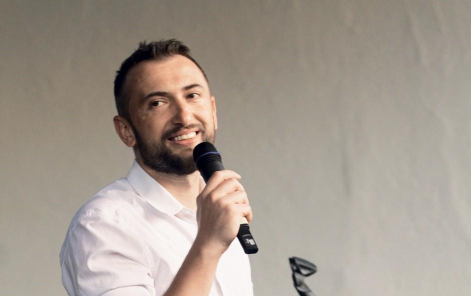 Že vsem dobro znan stand up komik Perica Jerković. (foto: FOTO: GORAN ANTLEY)