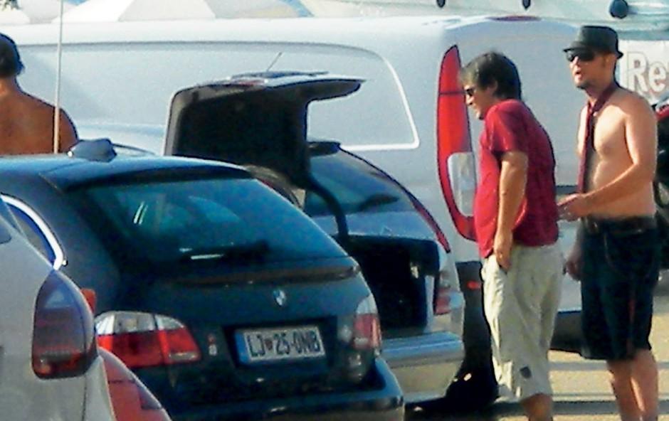 Rokerji so bili poazni zgolj zaradi Tomijevega klobuka in kravate (foto: N. Divja)