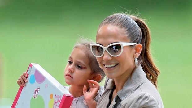 Jennifer Lopez s hčerko Emmo (foto: Profimedia.hu)