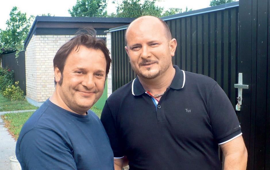 Bojan Emeršič in Silvo Bezjak (foto: arhiv Nova)
