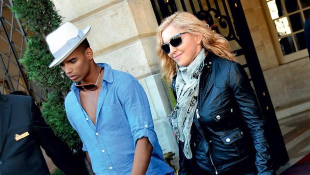 Brahim Zaibat in Madonna (foto: Profimedia.si)