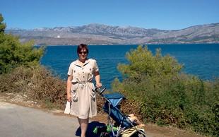 Nuška Drašček: Luka je bil prvič na morju