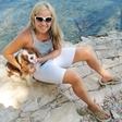 Špela Močnik: Uživa na morju