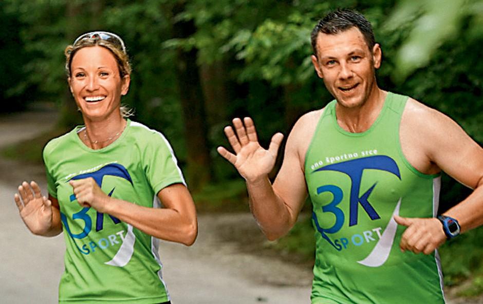 Marko Vozelj v družbi ekipe 3K Šport (foto: Story press)