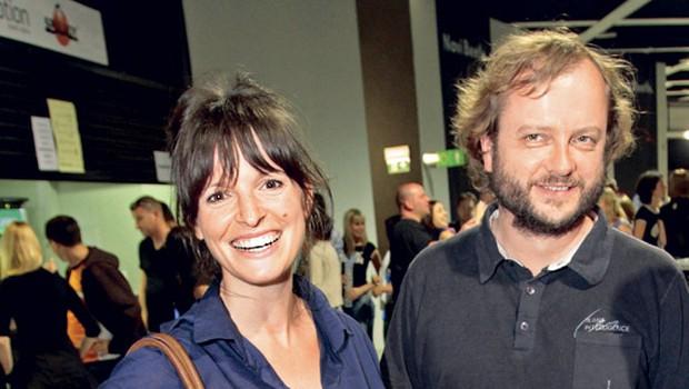 Ana Dolinar in Sebastijan Horvat (foto: Sašo Radej)