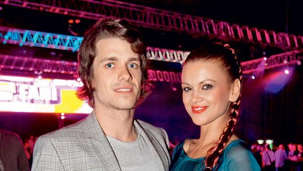 Anže Škrube in Nina Osenar (foto: Pop Tv)