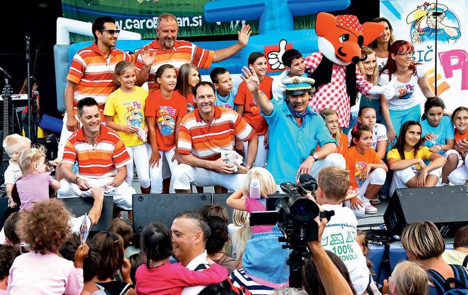 Vsekakor eden najbolj priljubljenih likov - Ribič Pepe. (foto: Zaklop.com)