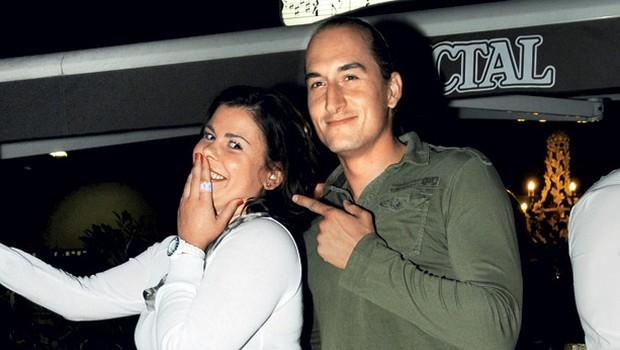 Vid Valič in Ana Marija Mitič (foto: Sašo Radej)