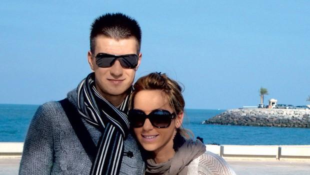 Rok Elsner z ženo Jasmino (foto: osebni arhiv)