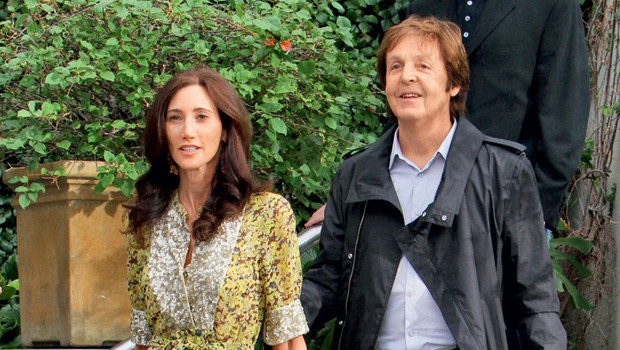 Nancy Sheyell in Sir Paul McCartney (foto: Profimedia.hu)