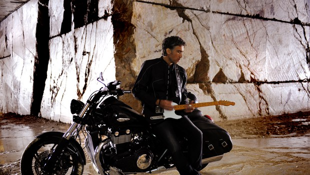 Janov novi spot so posneli v rudniku marmorja v Hotavljah. (foto: osebni arhiv)