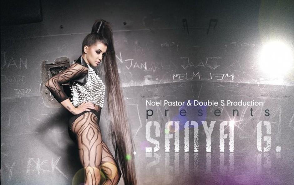 Sanja Grohar je zdaj postala Sanya G. in napada z novo skladbo Club Star. (foto: o.a.)