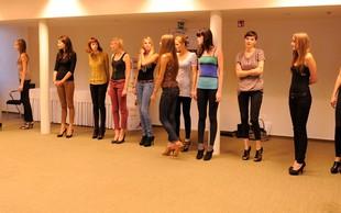 Izbirali smo manekenke za prvi slovenski teden mode