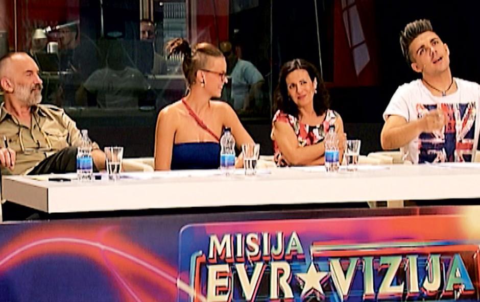 Sodniki Misije Evrovizije (foto: RTV Slovenija / Žiga Culiberg)