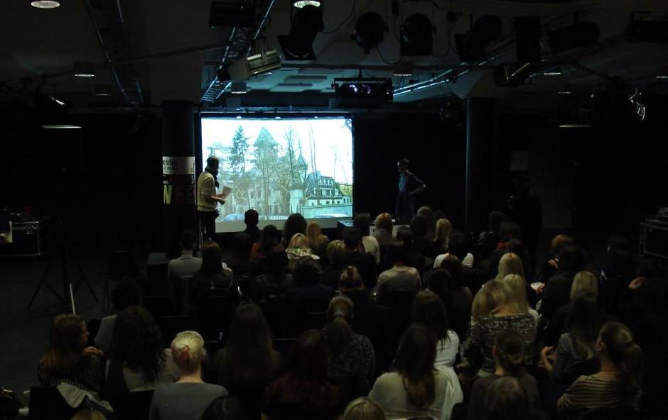Z dopoldanskimi predavanji se je začel 1. slovenski Fashion Week. (foto: Matej Špehar)