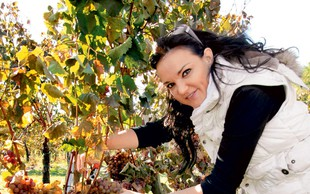 Alenka Gotar: Postala je vinska botra