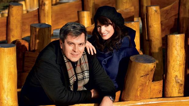 Janez in Ana Dolinar (foto: Goran Antley)