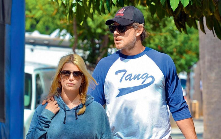 Jessica Simpson in Eric Johnson (foto: Profimedia.si)