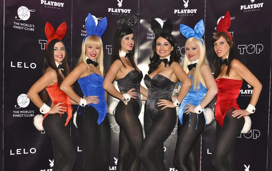 Playboyeva zabava je uspala tudi zaradi seksi Playboyevih zajčic. (foto: DonFelipe)