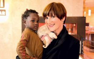 Maja Štamol Droljc obiskala Gvinejo Bissau in družini njenih posvojenih deklic!