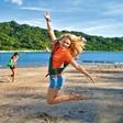 Rebecca Kim Lekše: Uživa na Filipinih