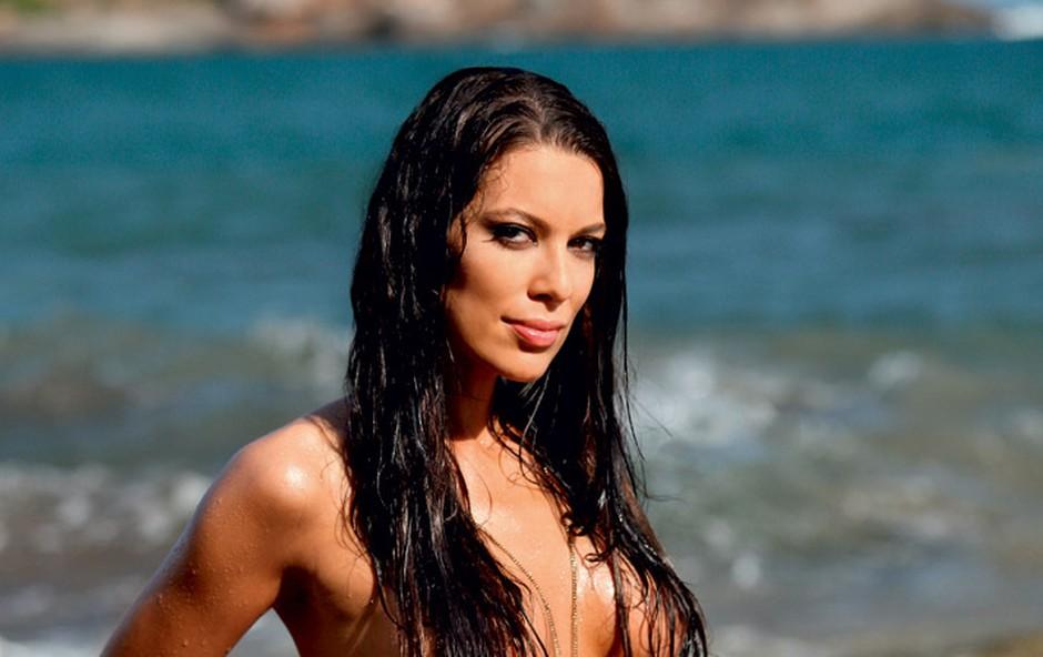 Iris Mulej je popolnoma omrežila Brazilce (foto: Playboy)