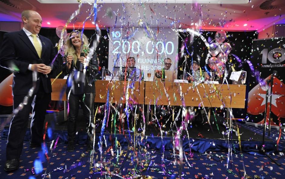 PokerStars slavi Guinnessov rekord (foto: PokerStars)