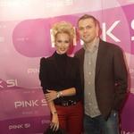 Pia Pustavrh in Sebastijan Vaznaver (foto: Goran Antley)