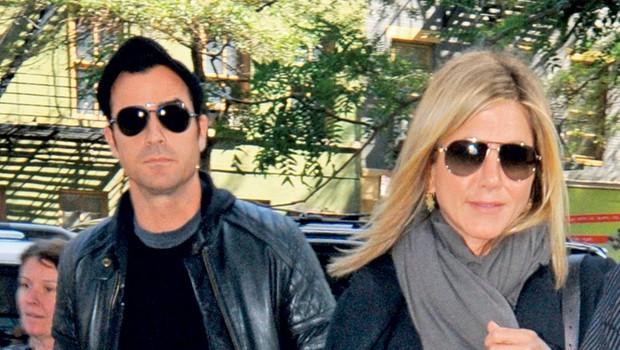 Jennifer Aniston in Justin Theroux (foto: Profimedia.si)