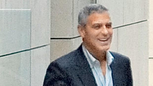 George Clooney si je čevlje mazal z mesnimi kroglicami (foto: Profimedia.si)
